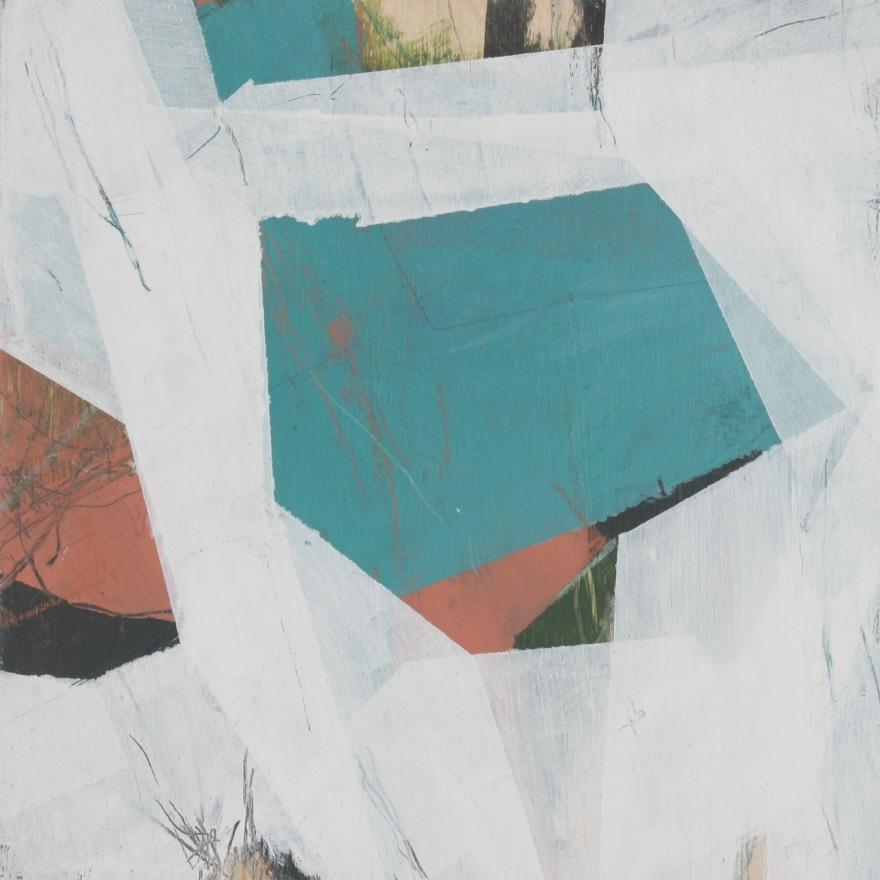 """Higgins.11 2018 8x8"""" Acrylic on wood panel"""